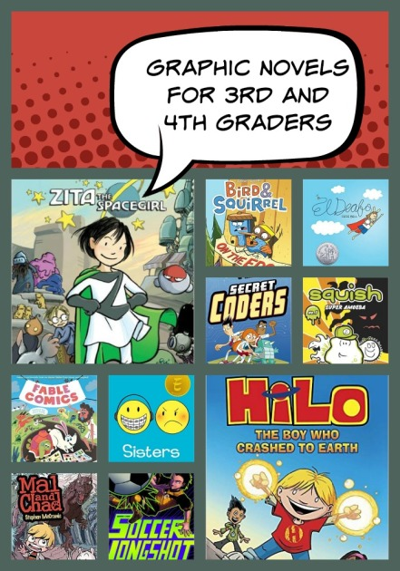 Graphic Novels for 3rd and 4th Graders