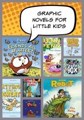 Graphic Novels for Little Kids
