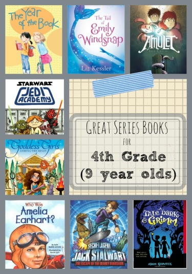 Series Chapter Books for 4th Graders 9 Year Olds