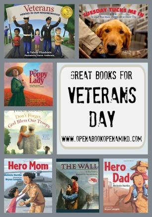 Books for Veterans Day