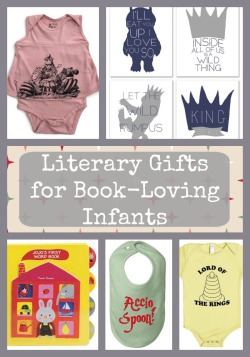 Literary Gifts for Book Loving Infants