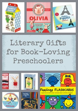 Literary Gifts for Book-Loving Preschoolers