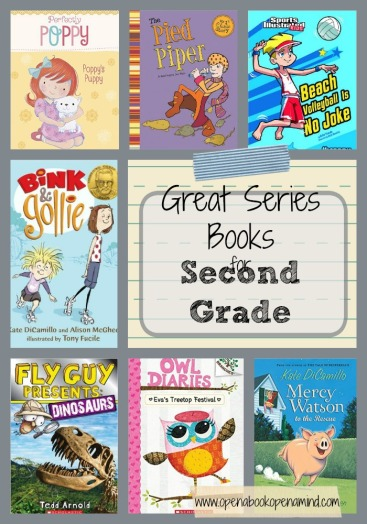 Great series books for 2nd Grade