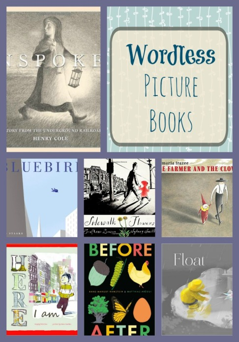 Wordless Picture Books With No Words