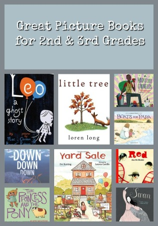Great Picture Books for 2nd grade and 3rd grade